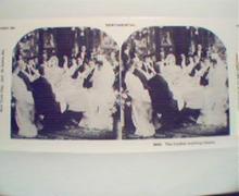 1970 Repro Card 1800-1900s-The Joyous Wedding Dinner