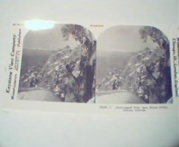 1970 Repro 1800-1900s- Snow Capped Victoria Alaska Mtns