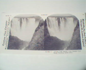 1970 Repro 1800-1900s- Victoria Falls in South Africa!