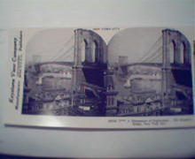 1970 Repro 1800-1900s- New York-Brooklyn Bridge!
