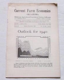 Current Farm Economics Report, Oklahoma, Oct.-Dec. 1939
