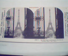 1970 Repro 1800-1900s-Eiffel Tower from Trocadero!