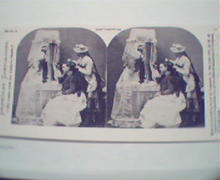 1970 Repro 1800-1900s-Sentimental- Woman with Maid!