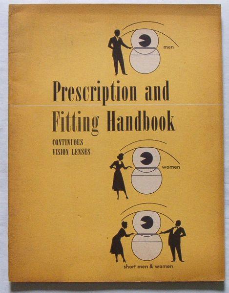 50s Prescription & Fitting Handbook for Bifocal Glasses