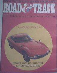 Road & Track 6/67 Mark Donohue and Skip Scott Profiles