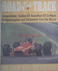 Road & Track,12/1968 Siata Spring,Opel GT,Ferrari 365