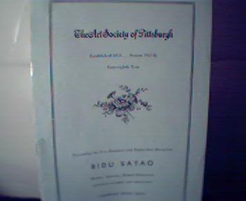 Arts Society of Pittsburgh-1941-42 Bidu Sayao!