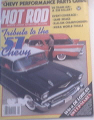Hot Rod, 1/1982, TRIBUTE TO THE 1957 CHEVY