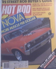 Hot Rod, 3/1982, CHEVY NOVAS, Blueprinting Engines