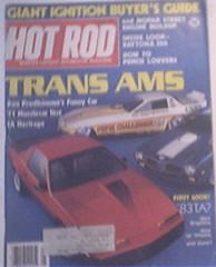 Hot Rod, 5/1982, TRANS AMS, 440 Mopar Street Engine