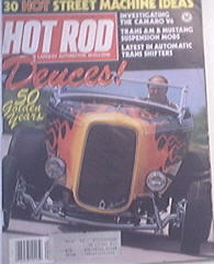Hot Rod, 8/1982, 1932 FORD's 50th Birthday