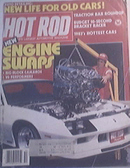 Hot Rod, 10/1982, 1937 Plymouth, Engine Swap