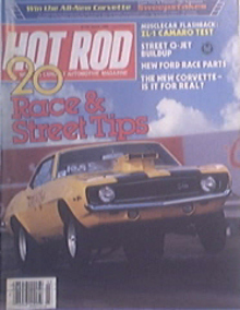 Hot Rod, 3/1983 New Corvette, 1929