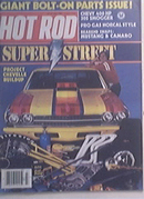 Hot Rod, 7/1983, Super Street Chevelle, 1941 Coupe