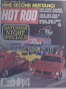Hot Rod, 9/1983, ZZ Top's Billy Gibbon 1933 Ford Coupe