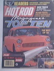 Hot Rod, 12/1986, 1965 GTO, 1971 Barracuda Convertible