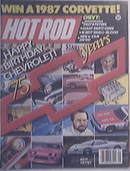 Hot Rod, 1/1987, 75 Years Of Chevy Performance