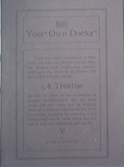 Be Yor Own Doctor by William Utrecht, 1921