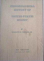 Chronologiical History Of United States Money,1968