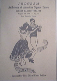 Anthology Of American Square Dance Program 8/10/1948