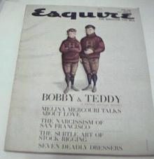 Esquire 4/1962 Robert & Ted Kennedy