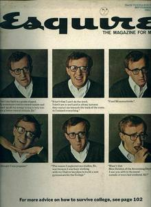 ESQUIRE, Woody Allen on College, 9/64