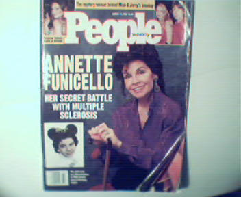 People-8/17/1992 Annette Funicello, Adwadagin Pratt!