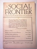 The Social Frontier,4/1939,Educational