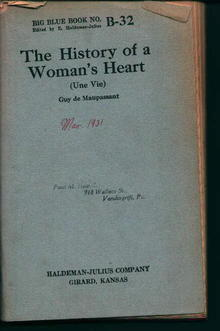 The History of a Woman's Heart B-32