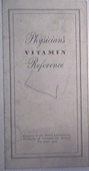Physician's Vitamin Reference Harris Laboratories