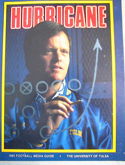 1985 HURRICANE FOOTBALL MEDIA GUIDE