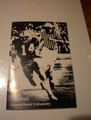 1982 GEORGETOWN UNIVERSITY FOOTBALL GUIDE
