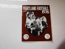 1976 MARYLAND FOOTBALL GUIDE        NICE L@@K