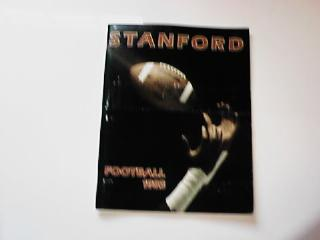 1983 STANFORD FOOTBALL GUIDE