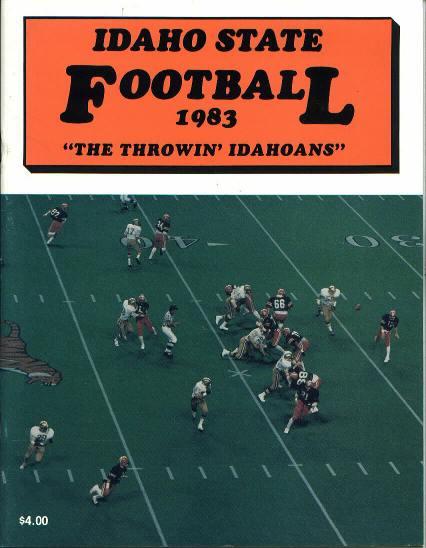 Idaho State Football Media Guide, 1983