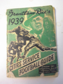 Grantland Rice's 1939 Cities Service Guide