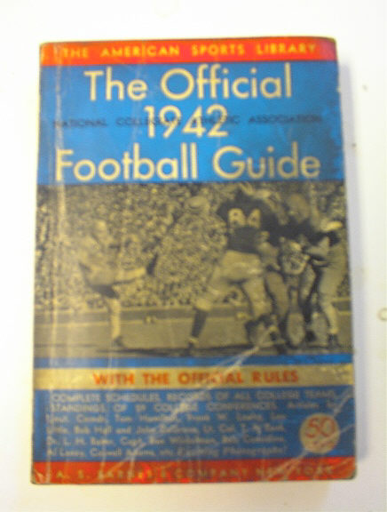 The Offical 1942 College Football Guide