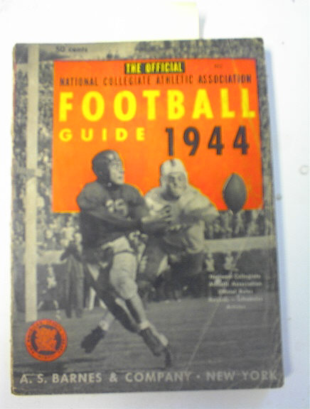 The Offical 1944 College Football Guide