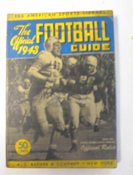 The Offical 1943 College Football Guide