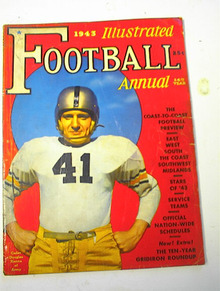 1943 Illustrated Football Annual/D.Kenna cov