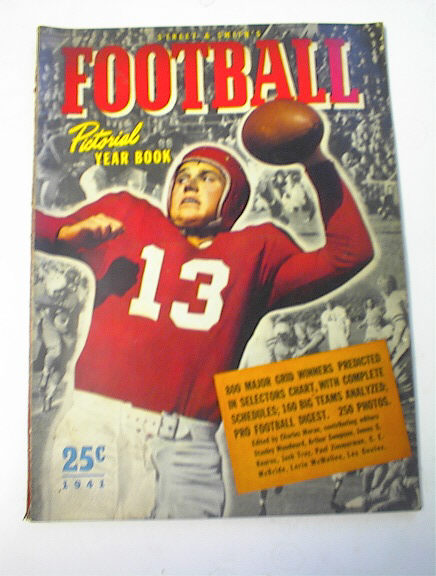Street & Smith Football Yearbook GREAT COVER