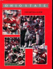 Ohio State Football Media Guide from 1989!