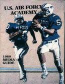 U.S. Air Force Football 1989 Media Guide!