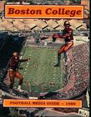 Boston College Football Media Guide from 89'
