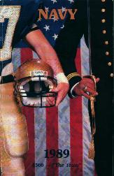 Navy Football 1989 Guide!