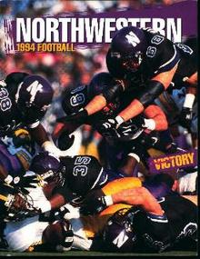 Northwestern Football Media Guide 1994