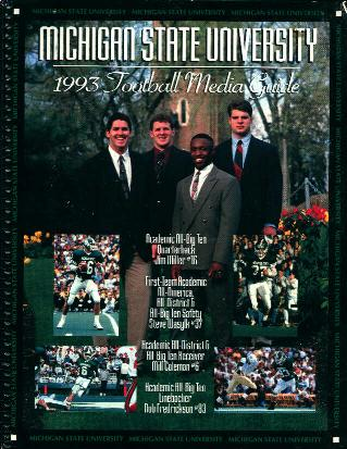 Michigan State University 1993 Media Guide