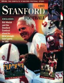Stanford Football 1993 Media Guide
