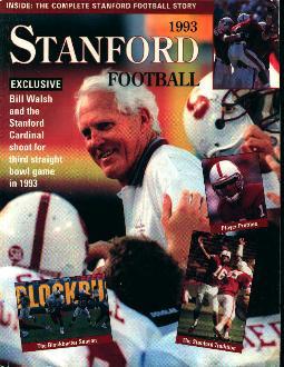 Stanford Football 1993 Media Guide