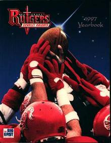 Rutgers Football 1997 Yearbook!